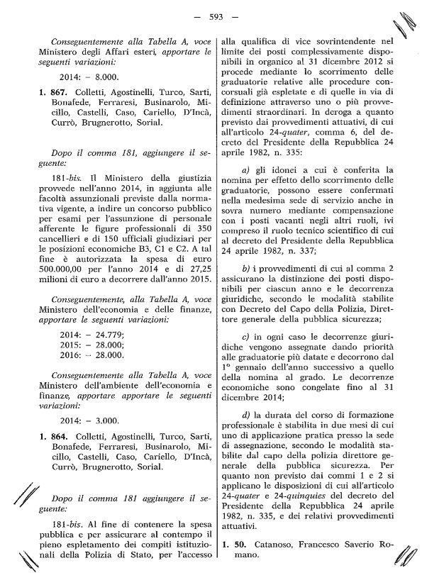 emendamento On Catanoso