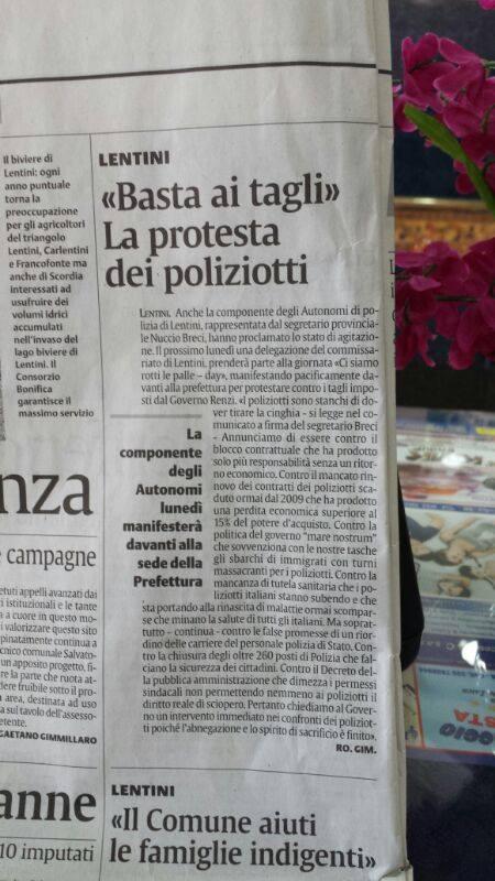 la sicilia del 12 luglio 2014